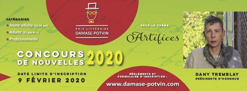 Prix littéraire Damase-Potvin – 25e édition