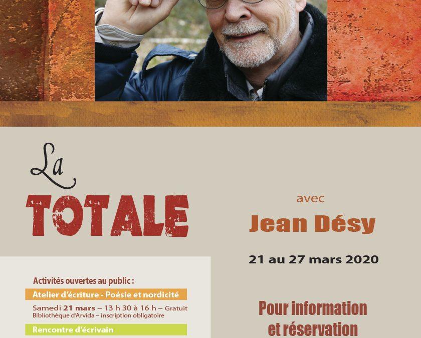ANNULATION – LA TOTALE avec Jean Désy